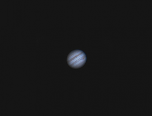 Jupiter With a Webcam
