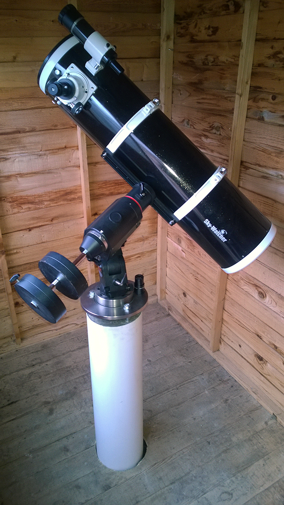 How to build a cheap telescope pier
