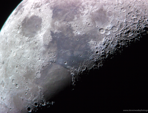 Lunar Surface with Skywatcher 200p