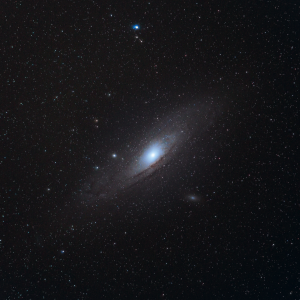 Andromeda Galaxy With a DSLR and Lens