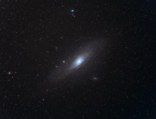 Andromeda Galaxy With a 200mm Lens
