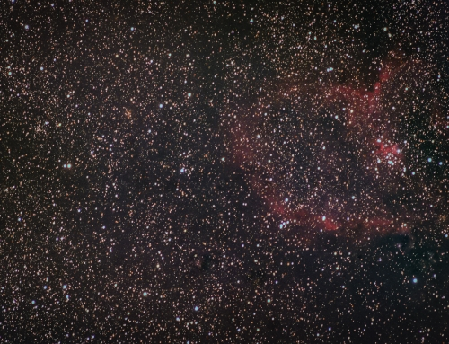 Photographing The Heart Nebula IC 1805 With a £50 Lens