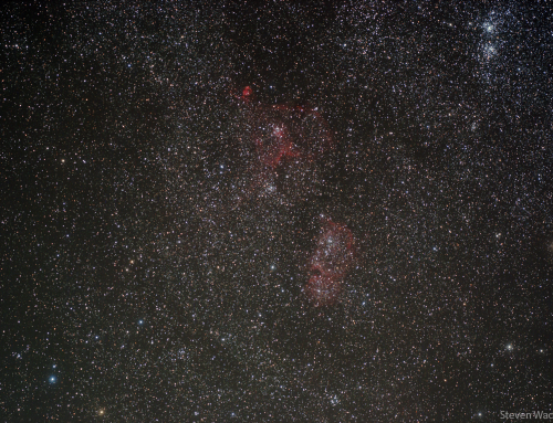IC1805 and IC1848 The Heart and Soul Nebulae | Budget Astrophotography