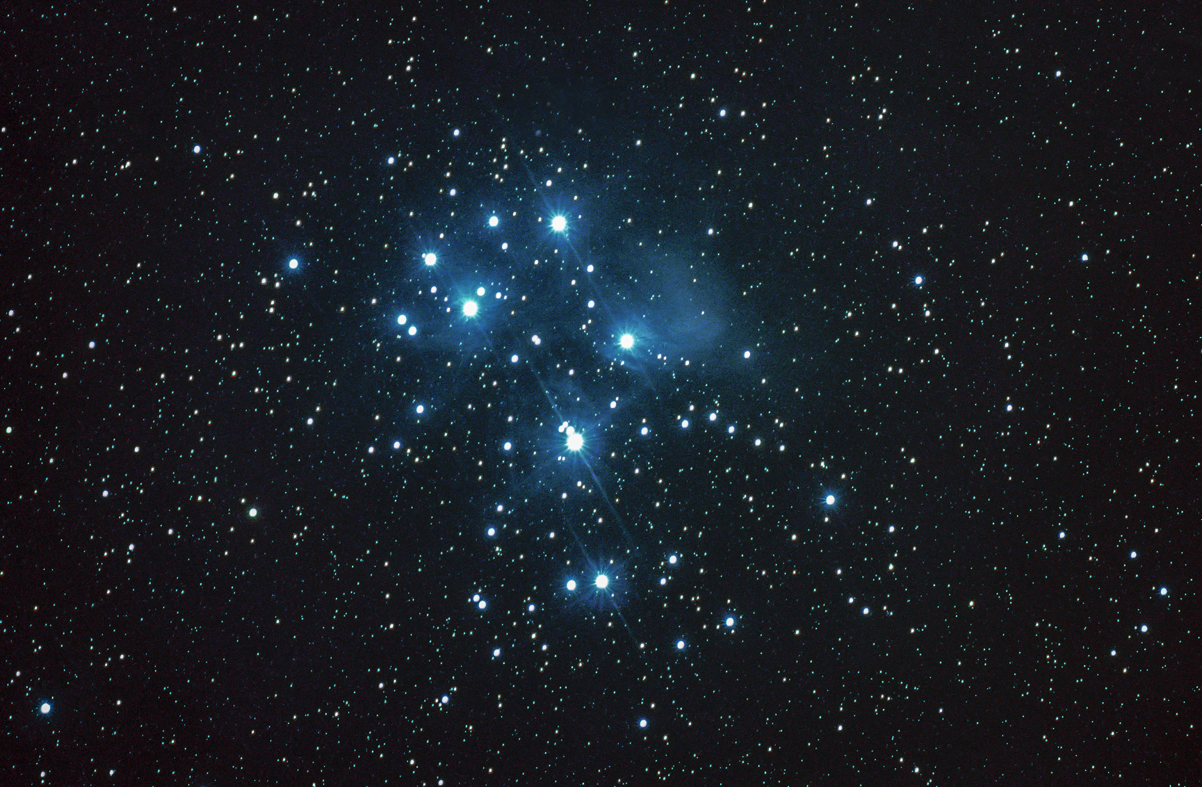 M45 Pleiades Astrophotography