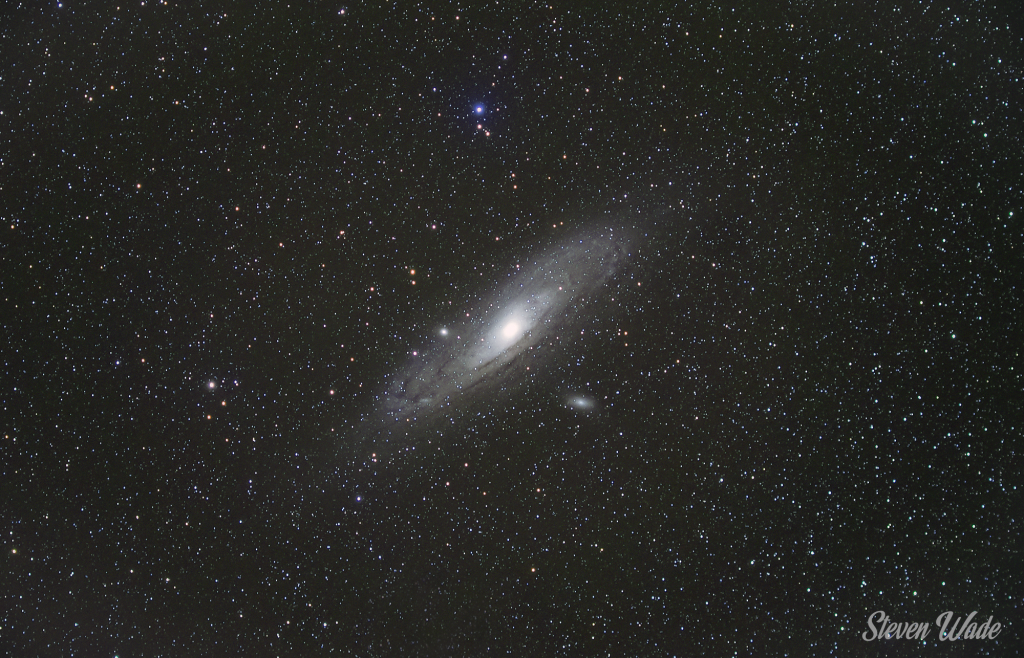 Andromeda Galaxy 135mm Lens