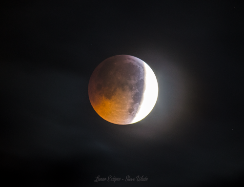Part Lunar Eclipse From Norfolk UK My Experience
